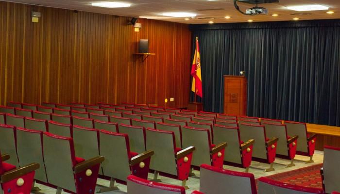 El salón de actos